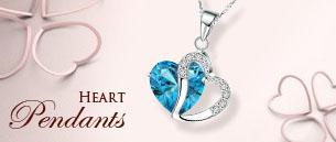 Heart Pendants Necklace